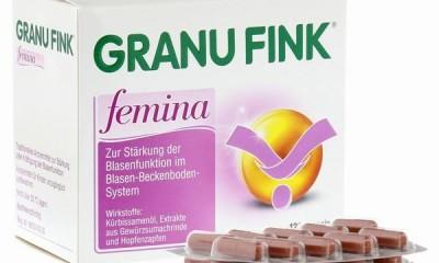 德国进口女性膀胱功能修复胶囊 granu fink femina适应于女性尿频尿急尿无力