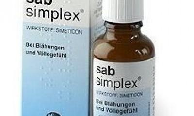 德国进口Sab Simplex西甲硅油 婴幼儿哺乳胀气 缓解肠绞痛滴剂