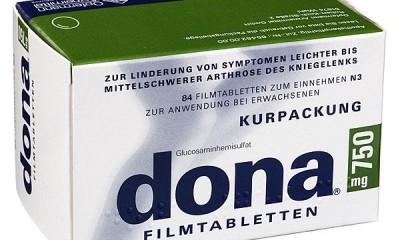 德国原装进口马博士dona 多纳( 硫酸氨基葡萄糖)改善风湿关节炎进口药